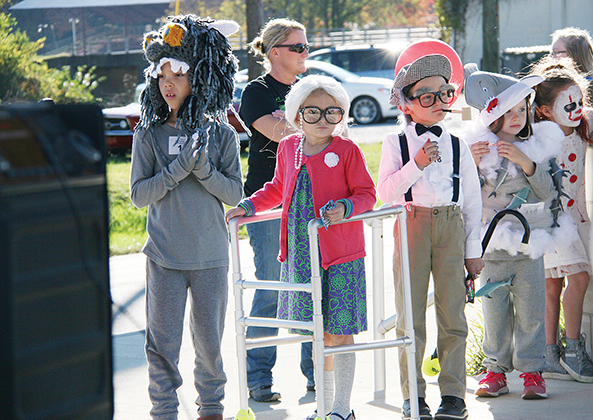 Winners named in costume contest, parade