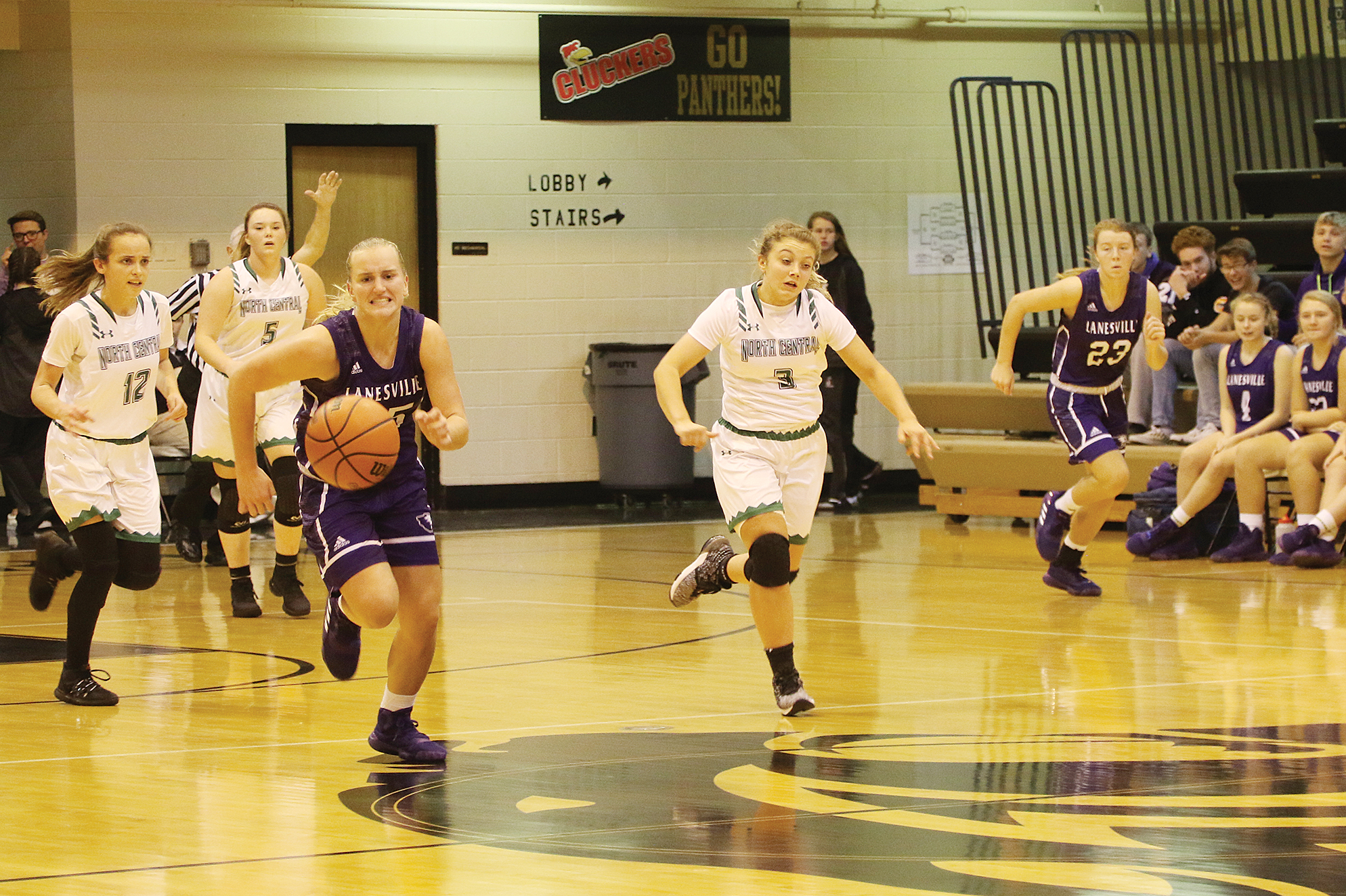 North Central holds off Lanesville for third place