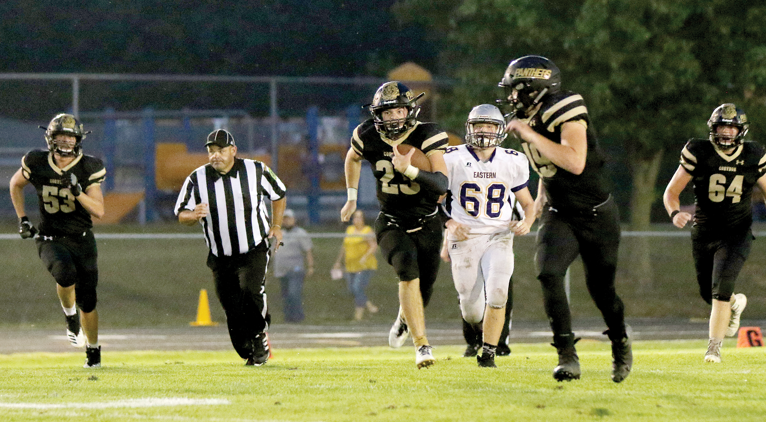 Panthers get rich in 2nd half