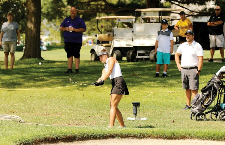 Best round puts Lady Panthers in hunt