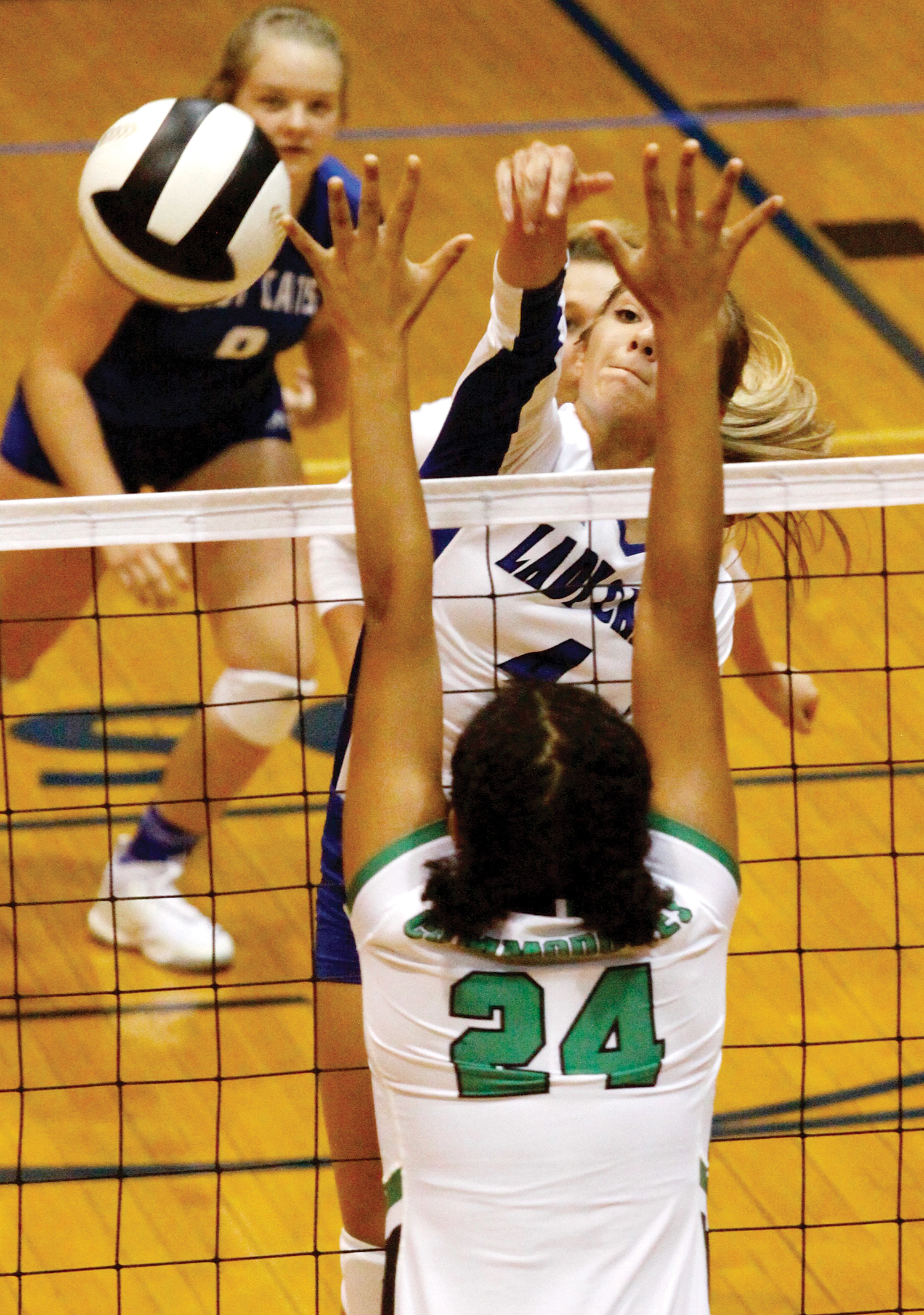 Lady Cats hammer Perry Central