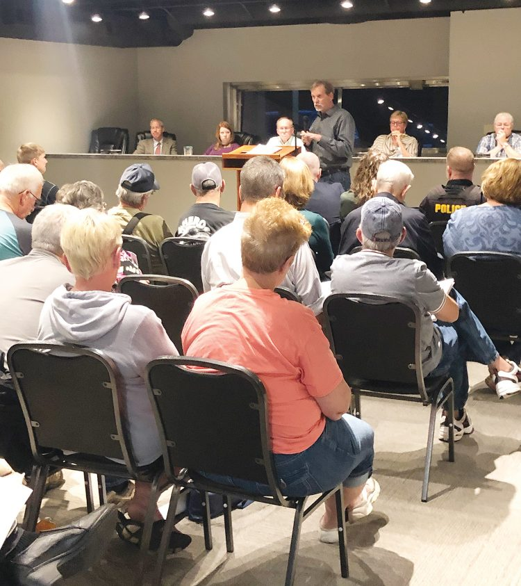 Corydon residents provide feedback about proposed rate increases