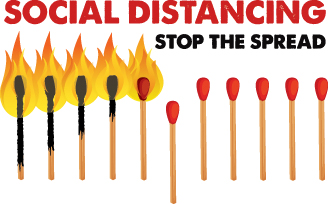 Social-distancing tips to stay sane, safe