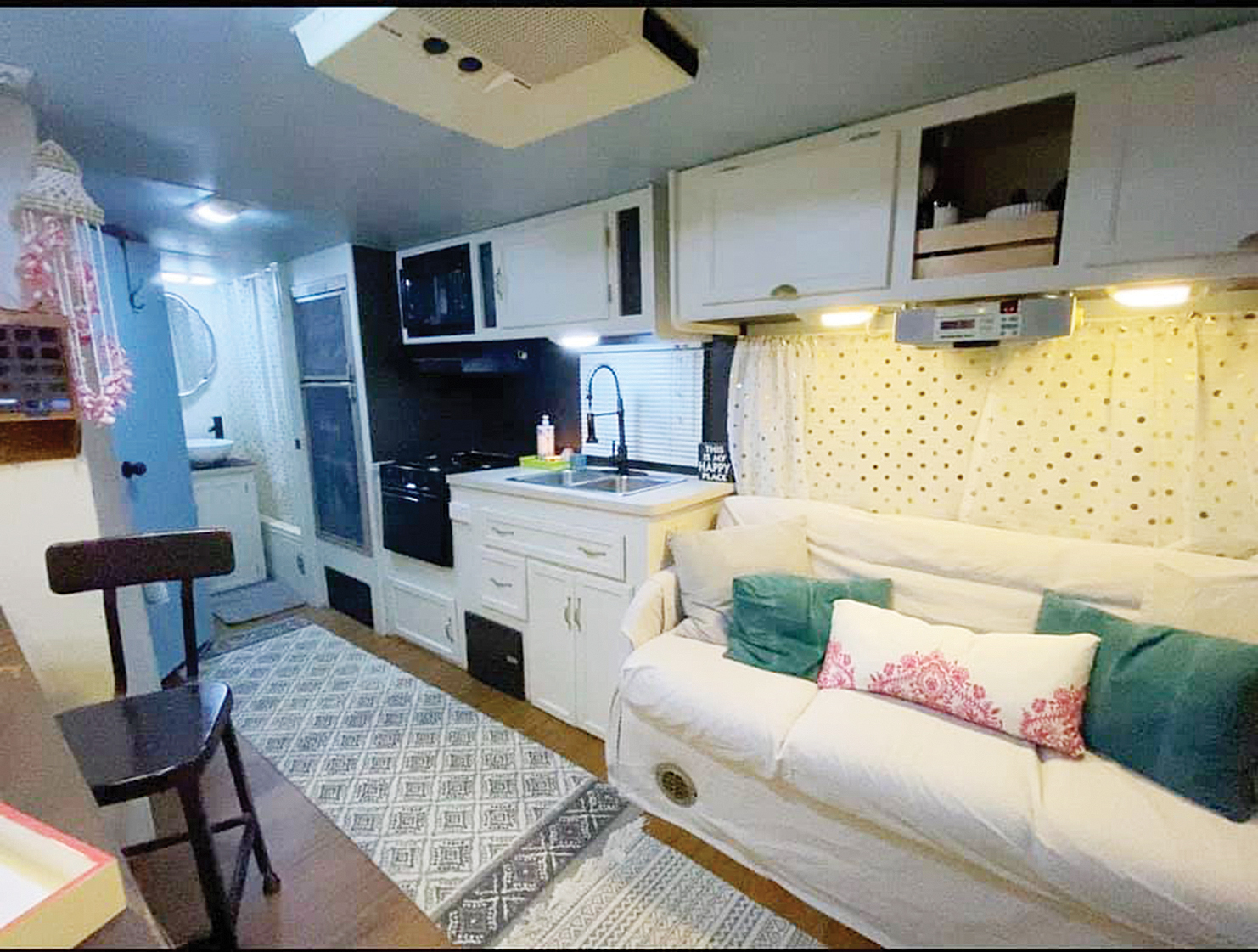 Idled traveler offers RV to health care provider