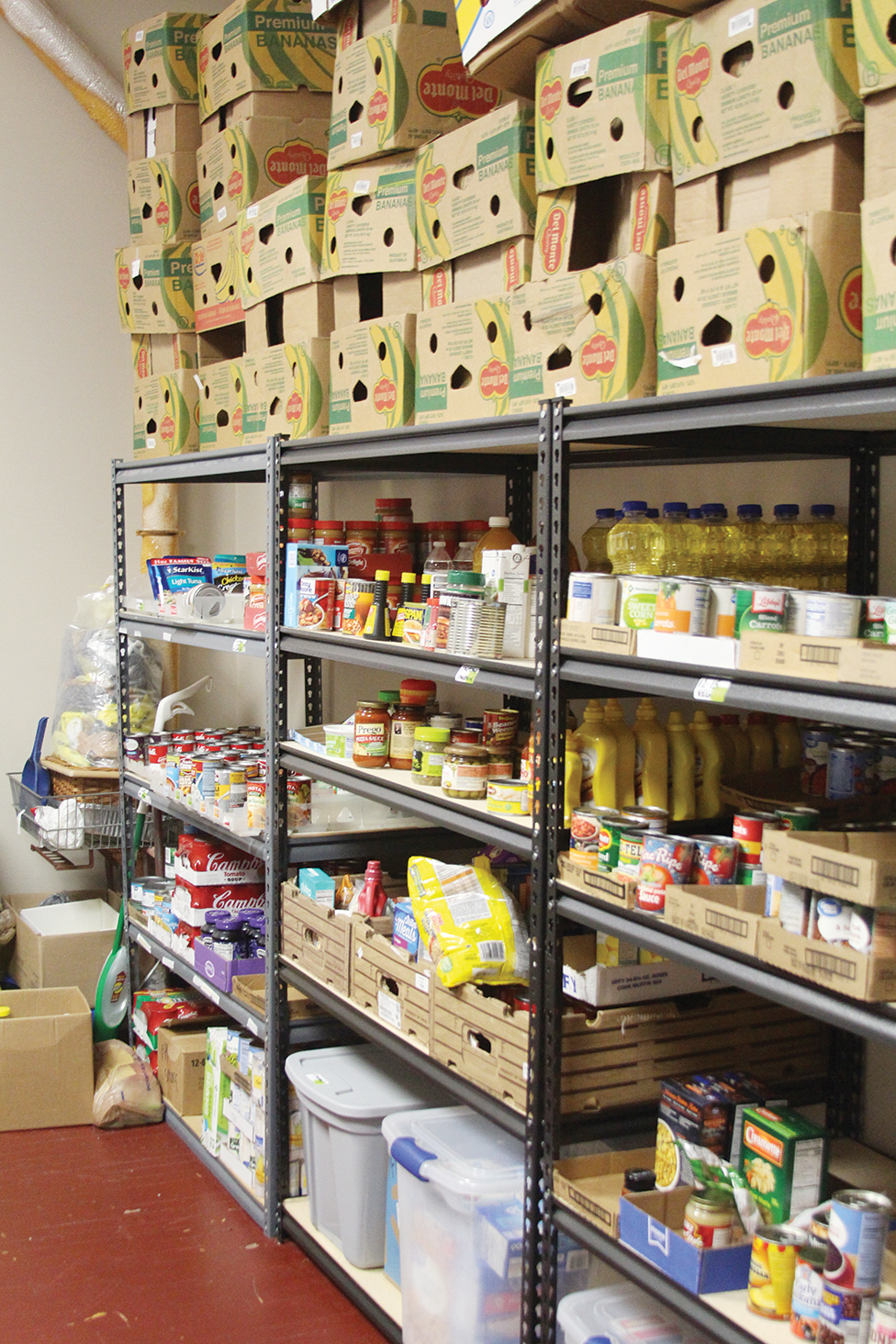 HCCF grant gives food pantry needed boost