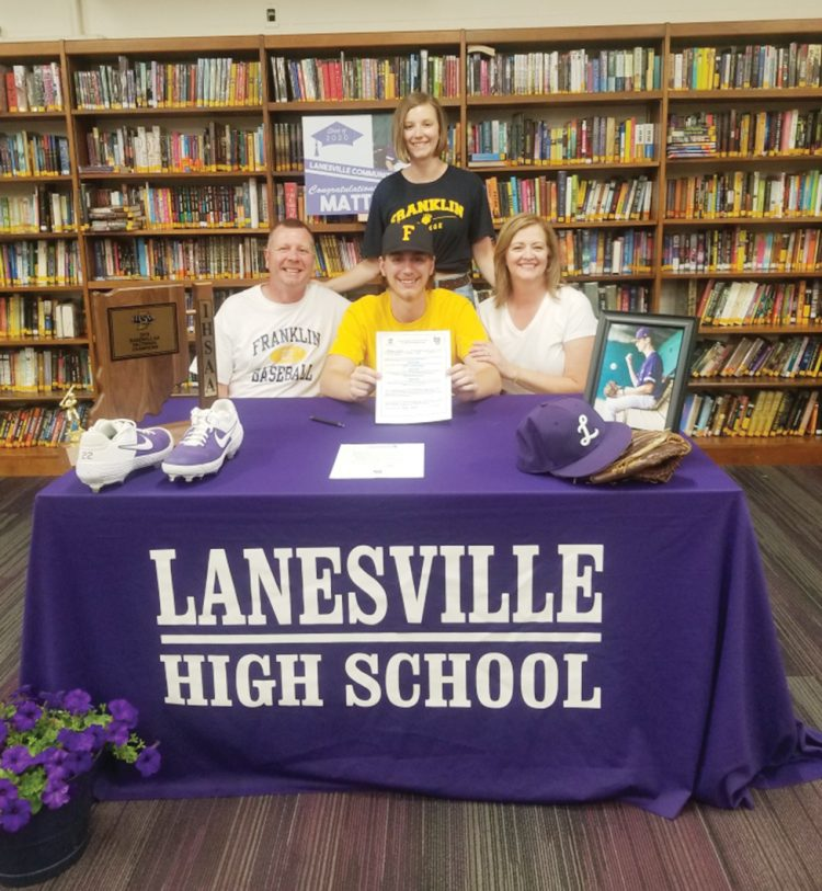 Lindsay signs with Franklin
