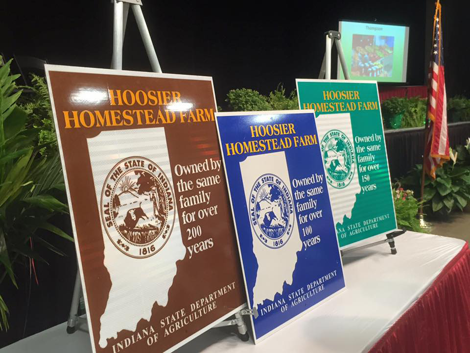 Local farms honored with Hoosier Homestead Award