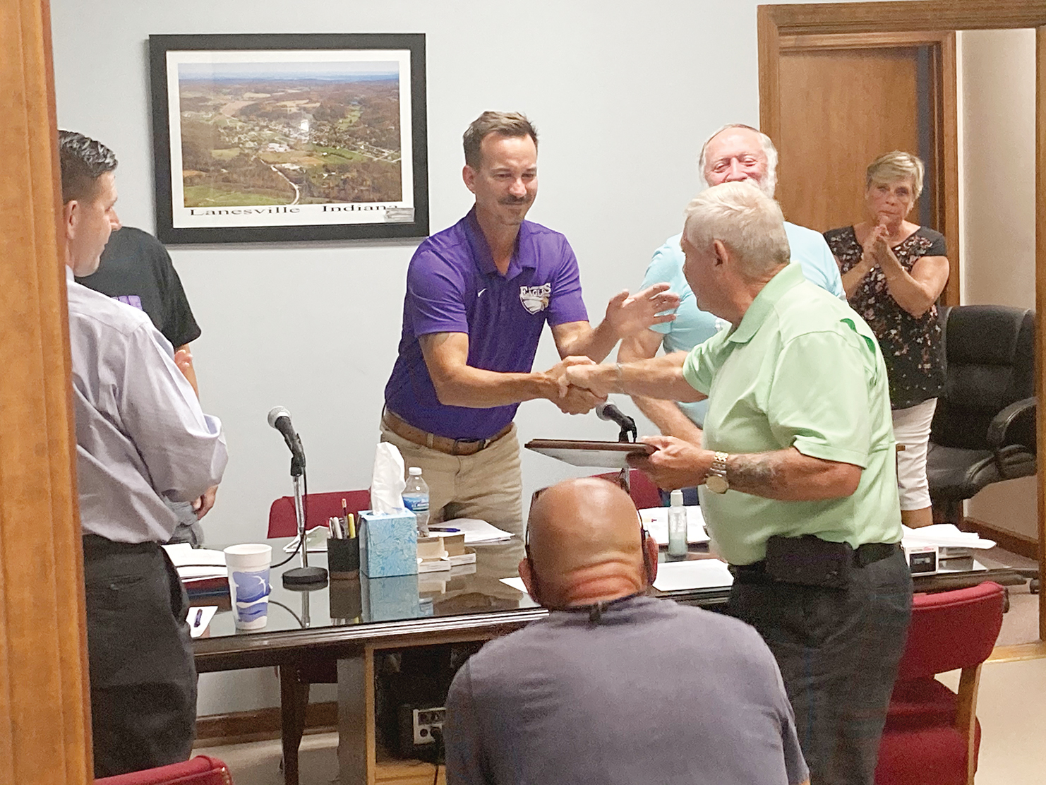 Lanesville salutes Sizemore for service