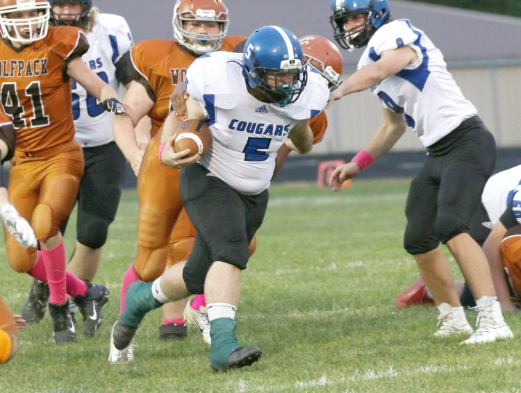 Cougars crush Wolfpack, 55-0