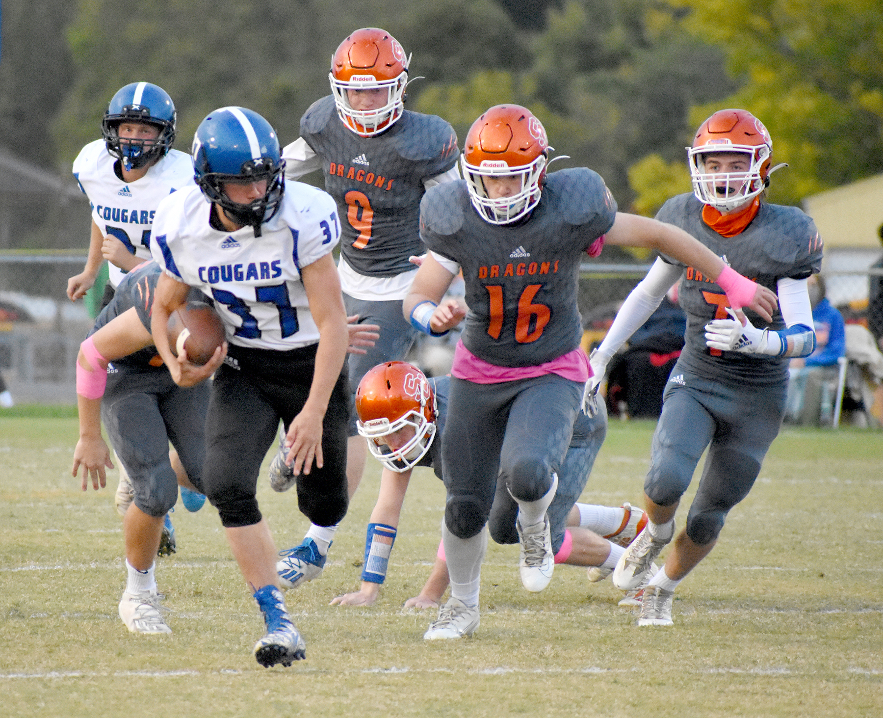 Creek too strong for Cougars
