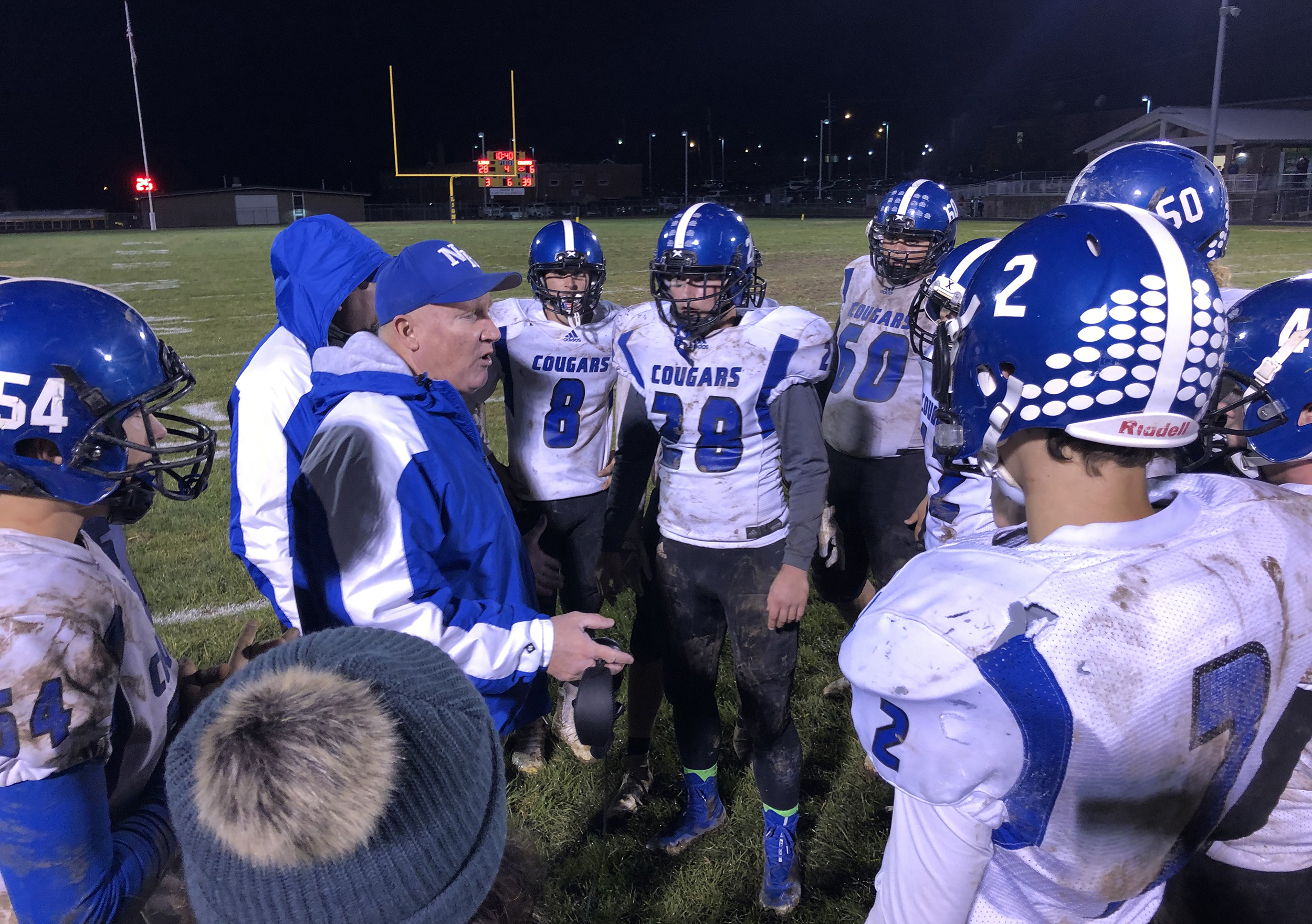 Lions turn the tables on Cougars, 28-14