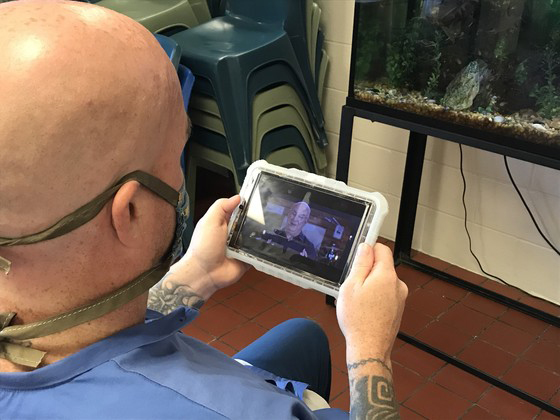 First Capital provides 'Church Anywhere' to offender tablets