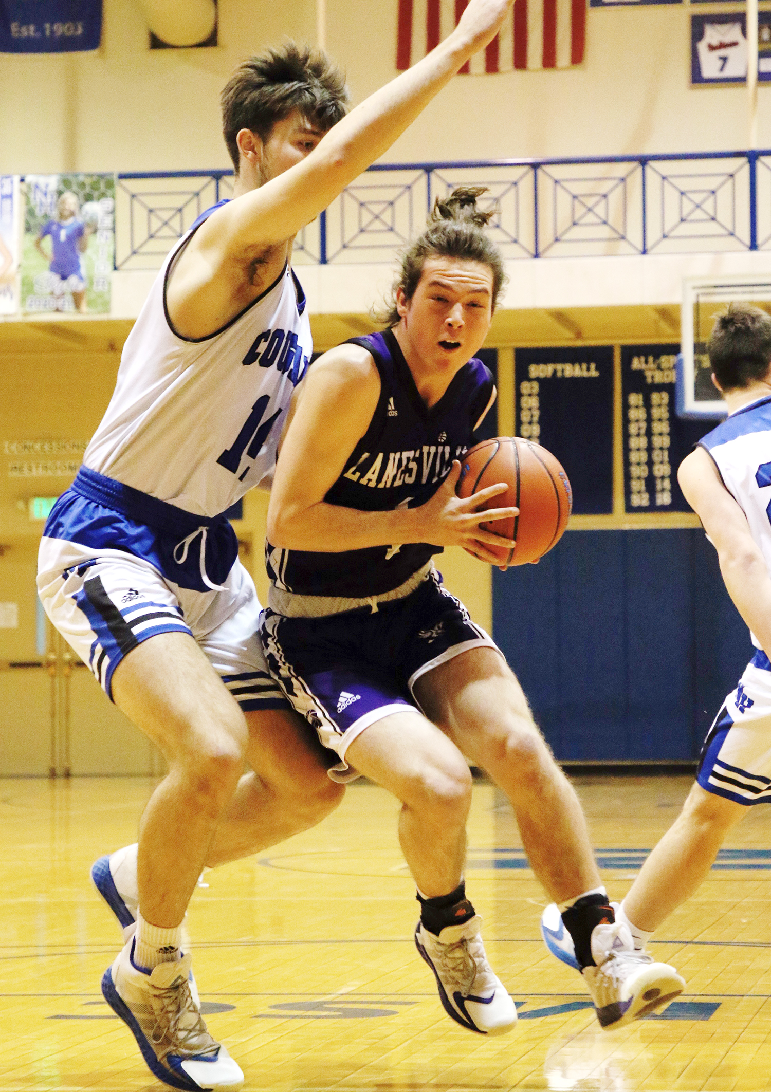 Cougars clip Eagles behind Hatton's 29