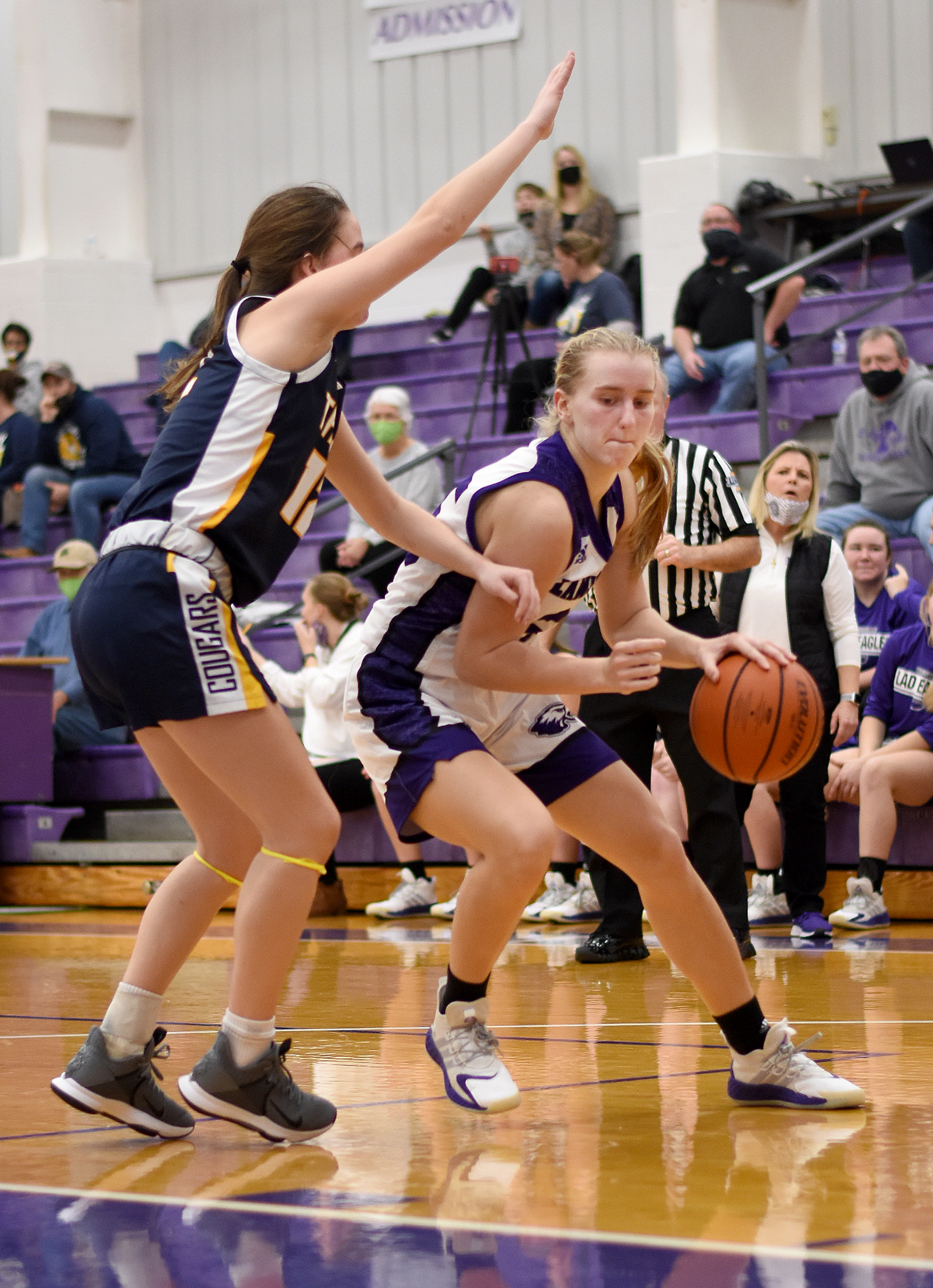 Lady Eagles fall to Trinity in 1-2 battle