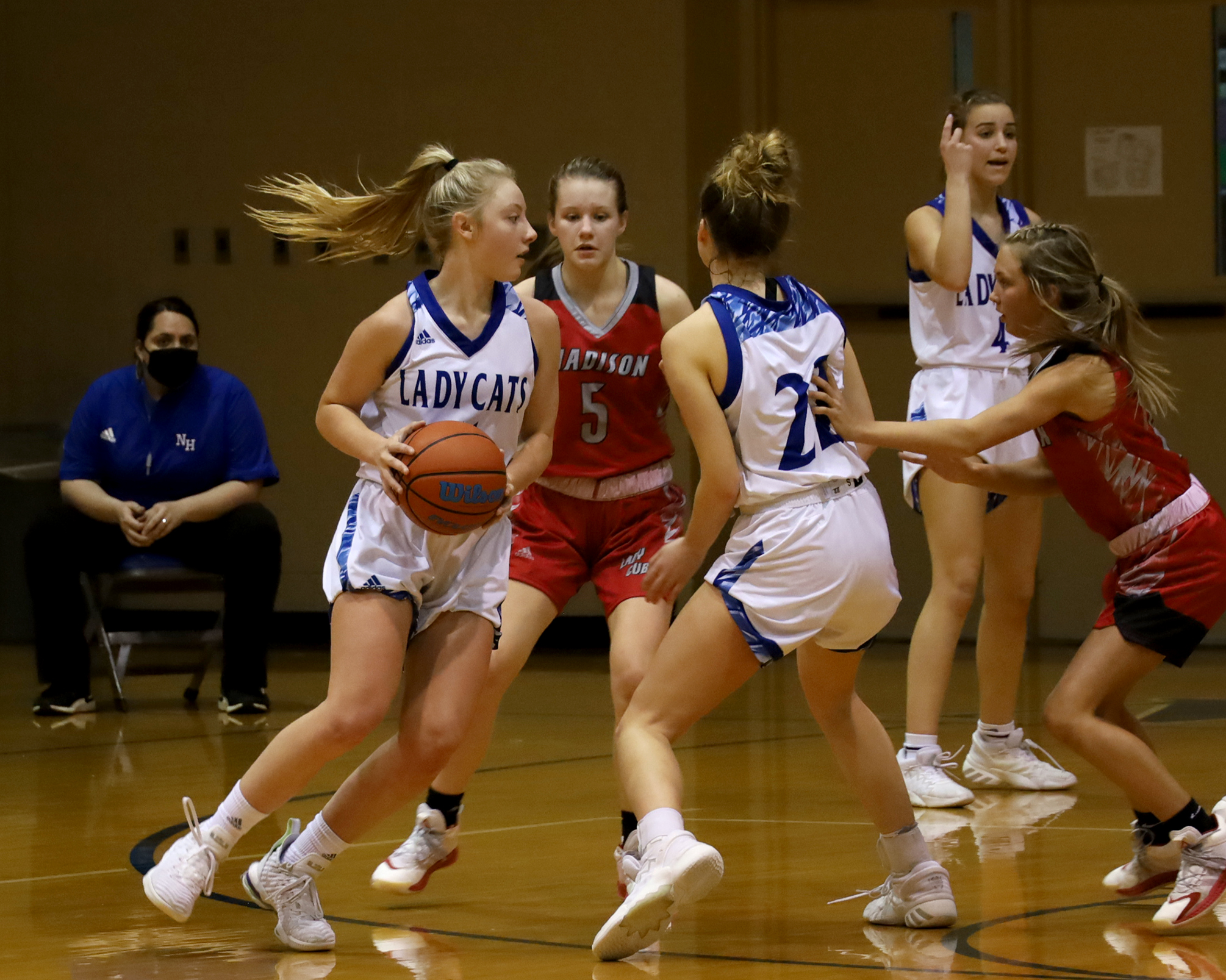 Madison girls get past Lady Cats
