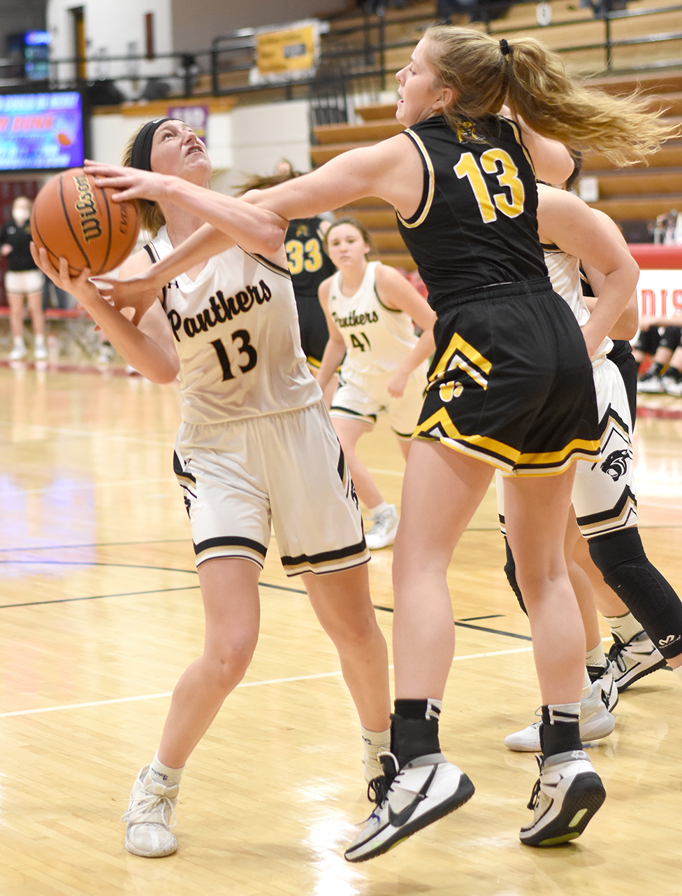 No. 2 Lady Lions hold off Corydon Central