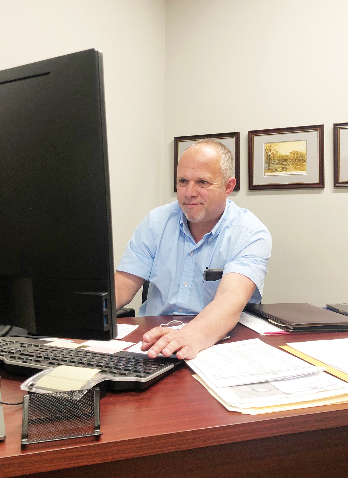 New manager wants to help maintain town's 'hometown feel'