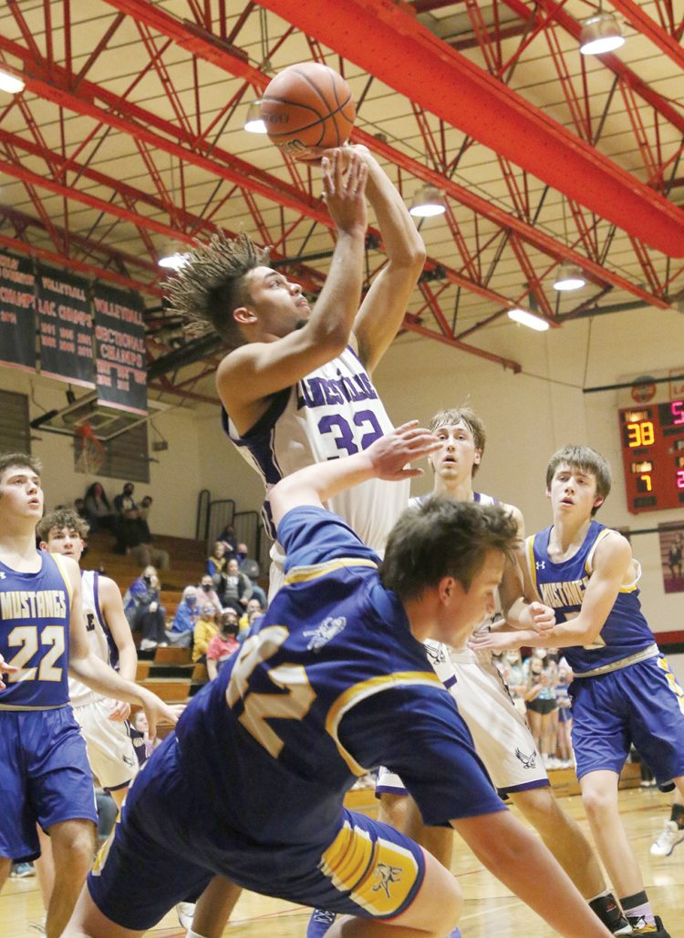 Lanesville ousts Mustangs