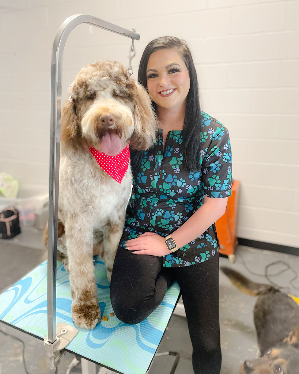 Love of animals leads to dog grooming business