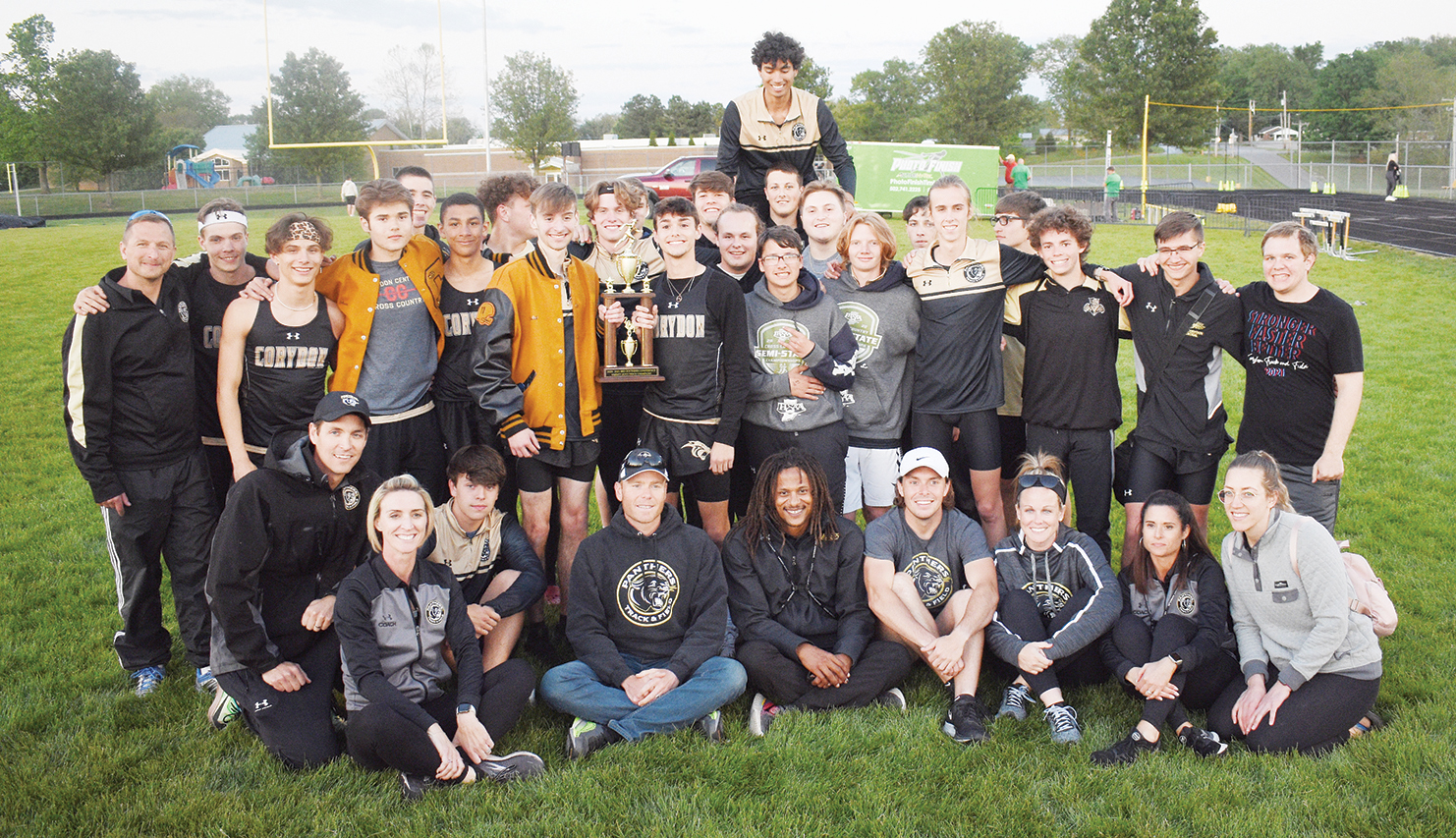 Panthers dominant in Mid-Southern meet