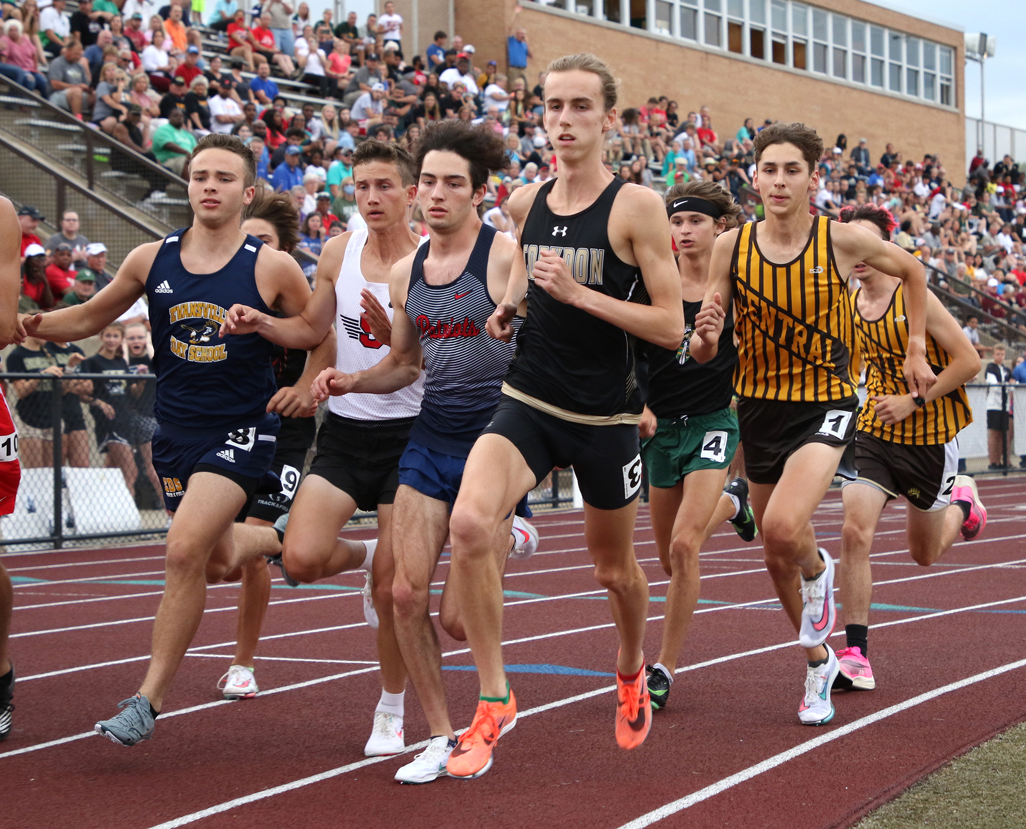 Marshall wins two events to advance to state