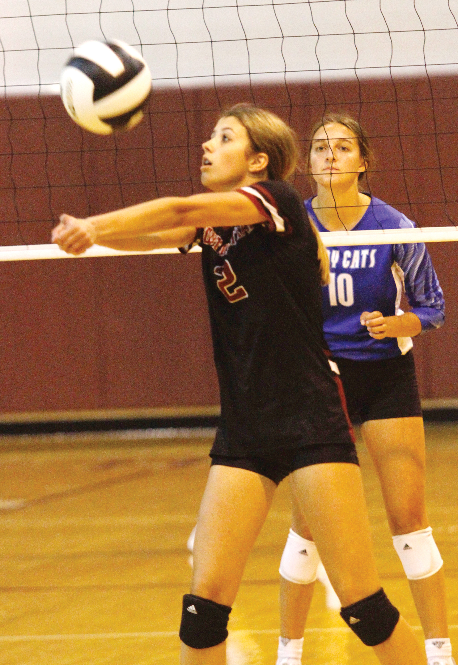 Lady Cats sweep Lady Rebels