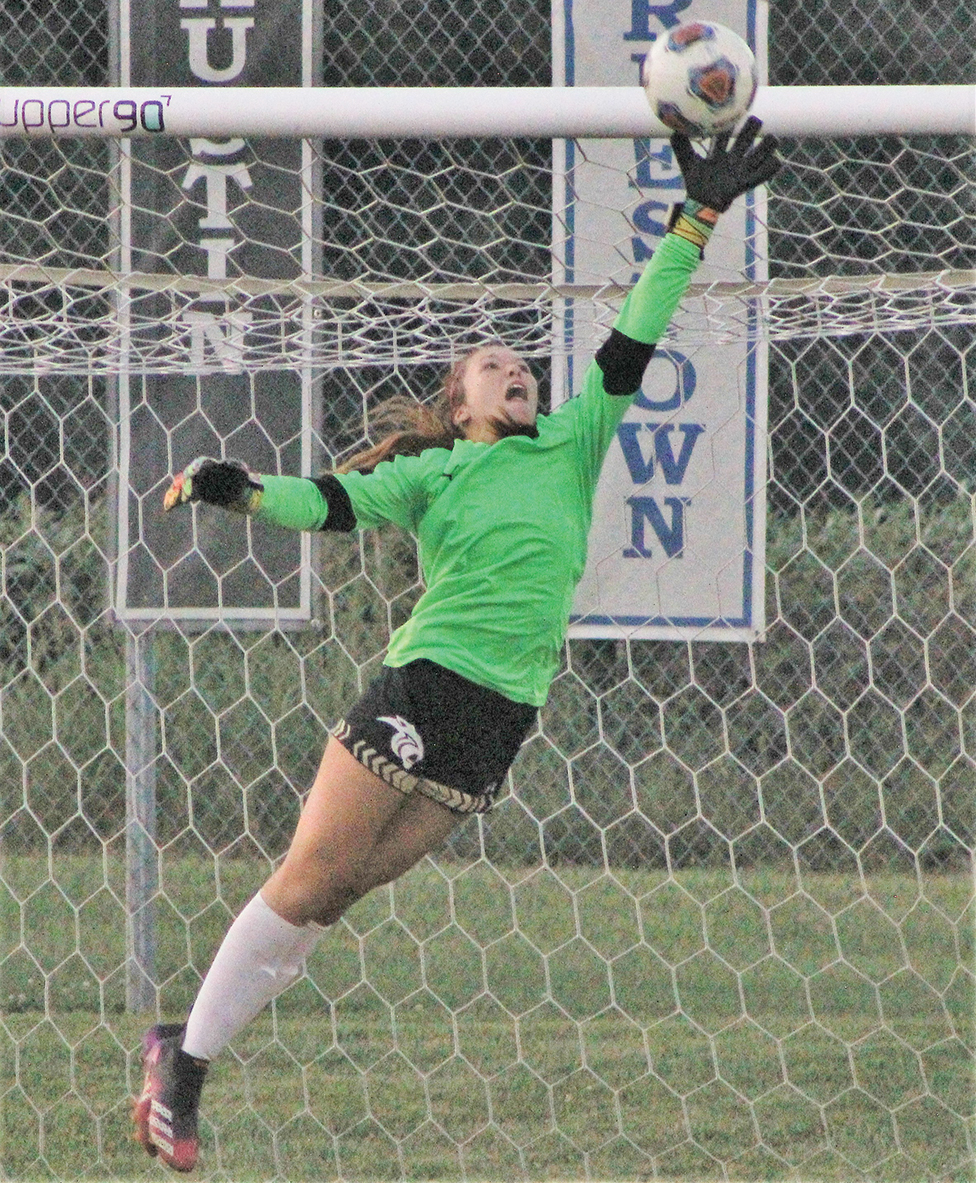 Weber's second-half hat trick leads Lady Panthers' comeback against NH