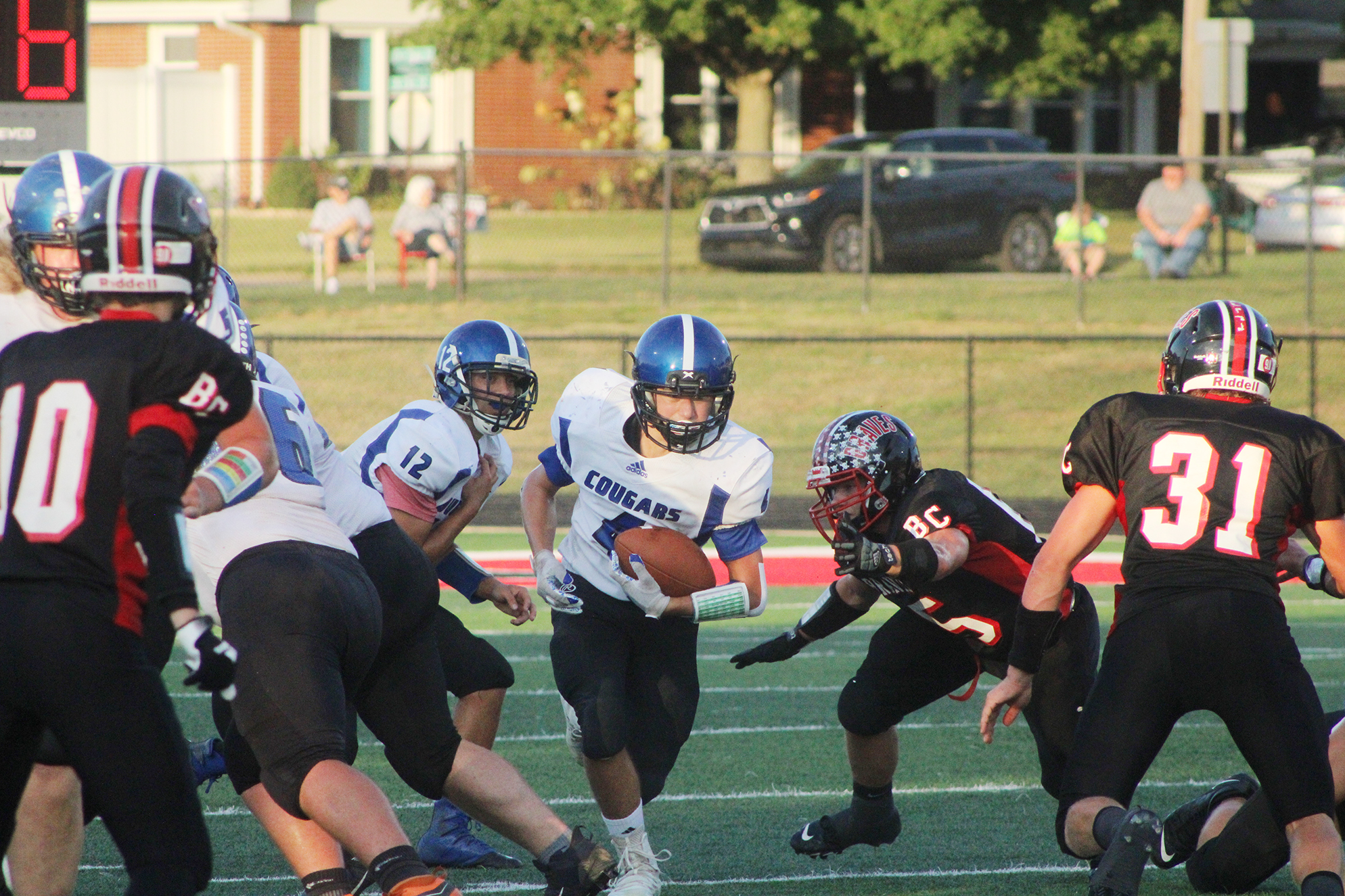 Cougars' modest improvements not enough against Brownstown