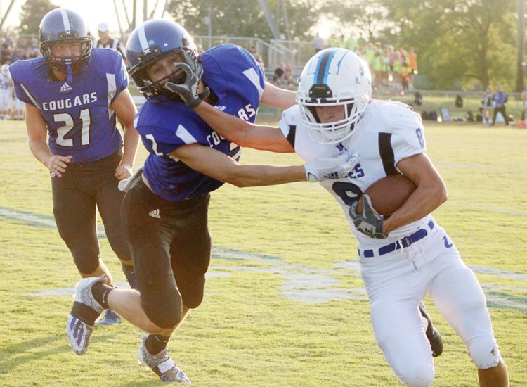 Cougars beaten down by Charlestown
