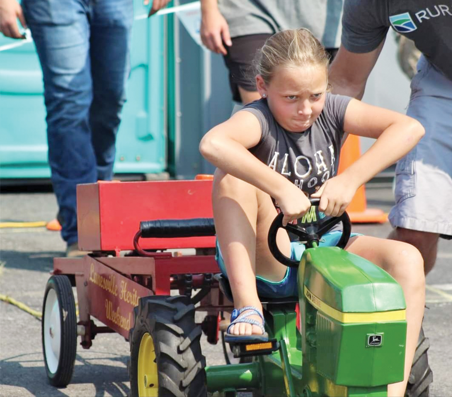 Heritage provides pedal tractor pull results