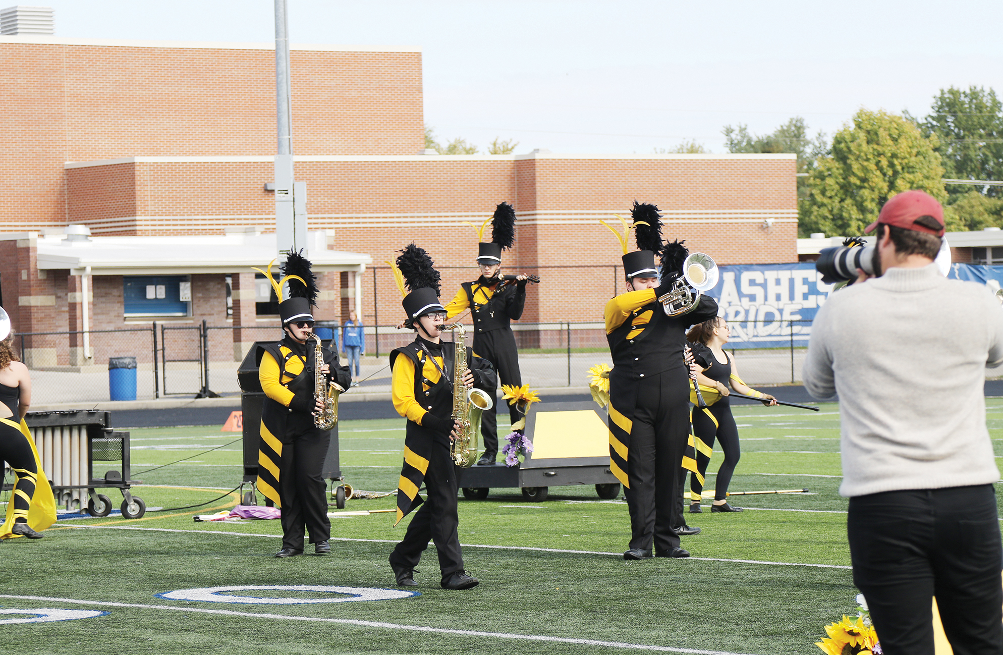 Marching Cougars finish 5th at state