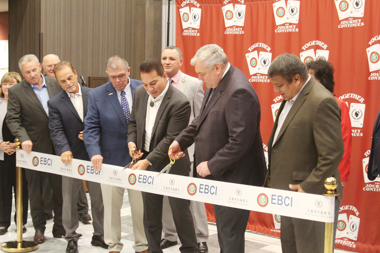 EBCI makes it official