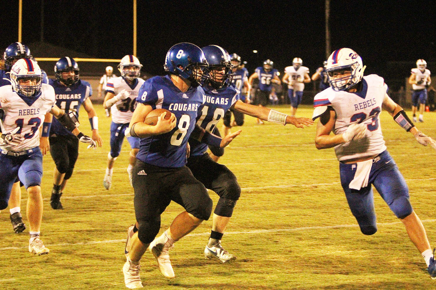 Cougars rally late against South Spencer